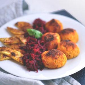Najlepsze wegańskie kotleciki z czerwonej soczewicy, kalafiora i marchewki