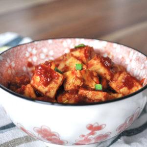 Koreańskie tofu.