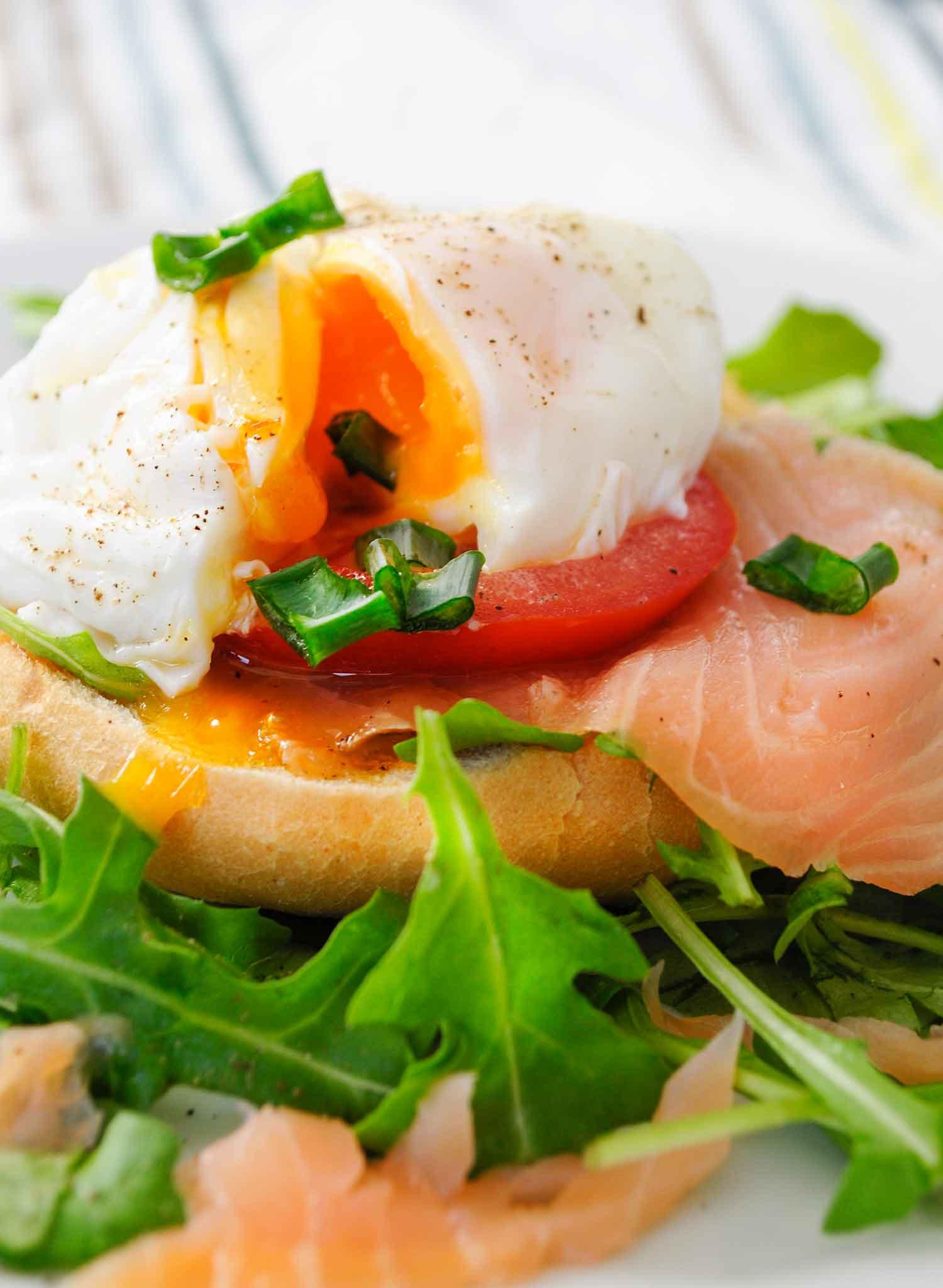 Śniadanie po benedyktyńsku czyli jajko w koszulce