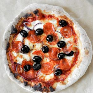 Włoska pizza z piekarnika