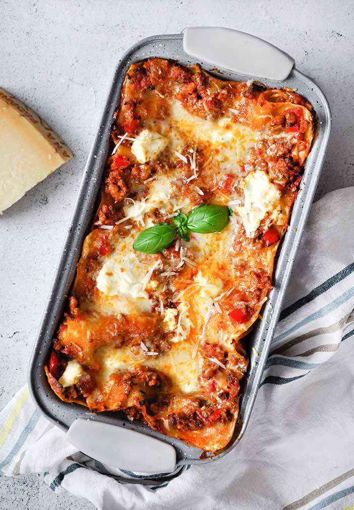 Lasagne z ricottą